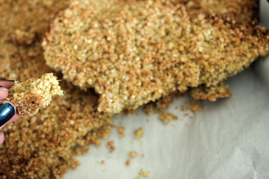 how-to-make-quinoa-granola