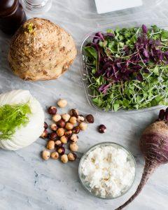 early spring salad ingredients-2