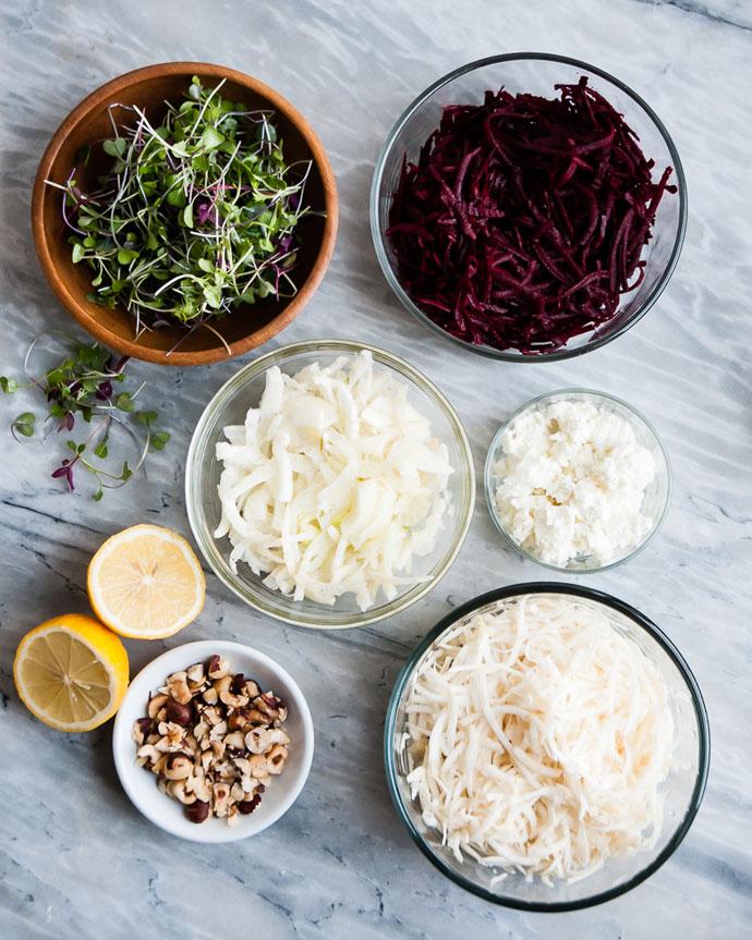 early-spring-salad-ingredients