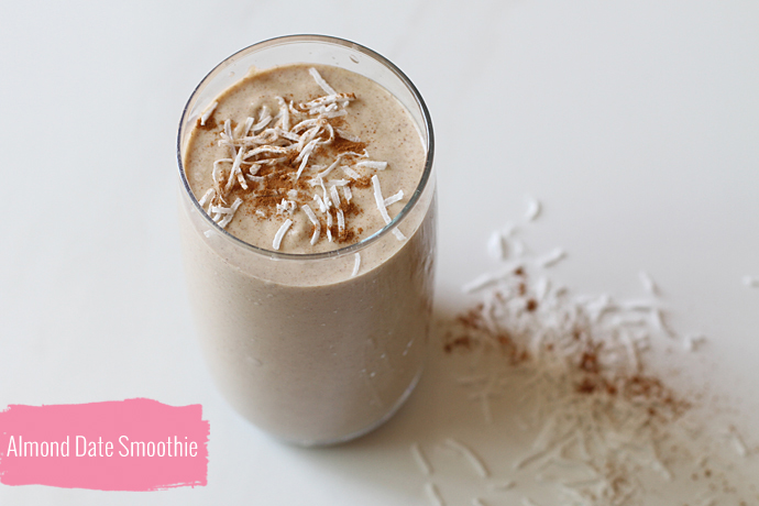 Almond Date Smoothie With Maca