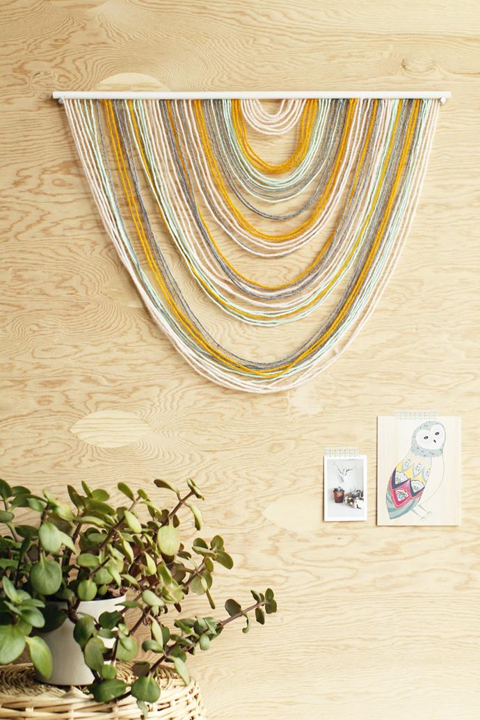 DIY Wall Tapestry