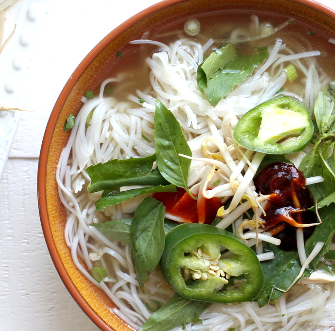 Howe We Live Traditional Pho Ga Vietnamese Chicken Noodle Soup