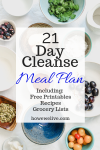 21 day cleanse pin image