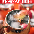 Apple Cider Moscow Mule Pinterest Image