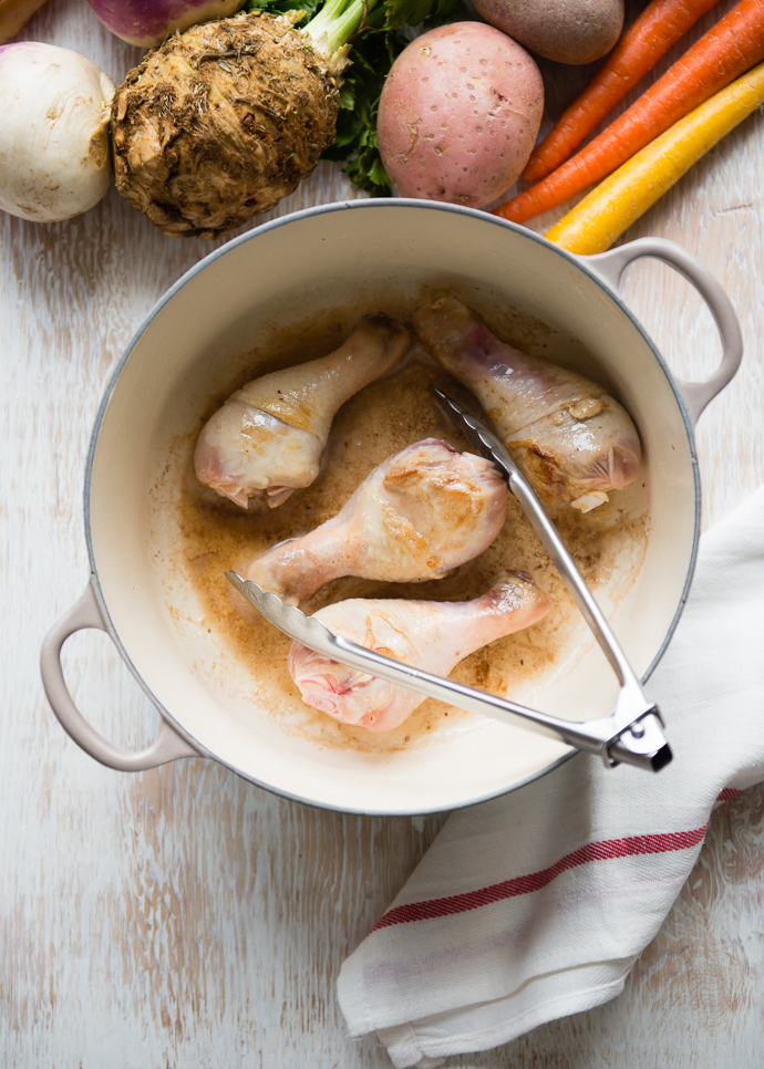 Chicken Stew with Root Vegetables