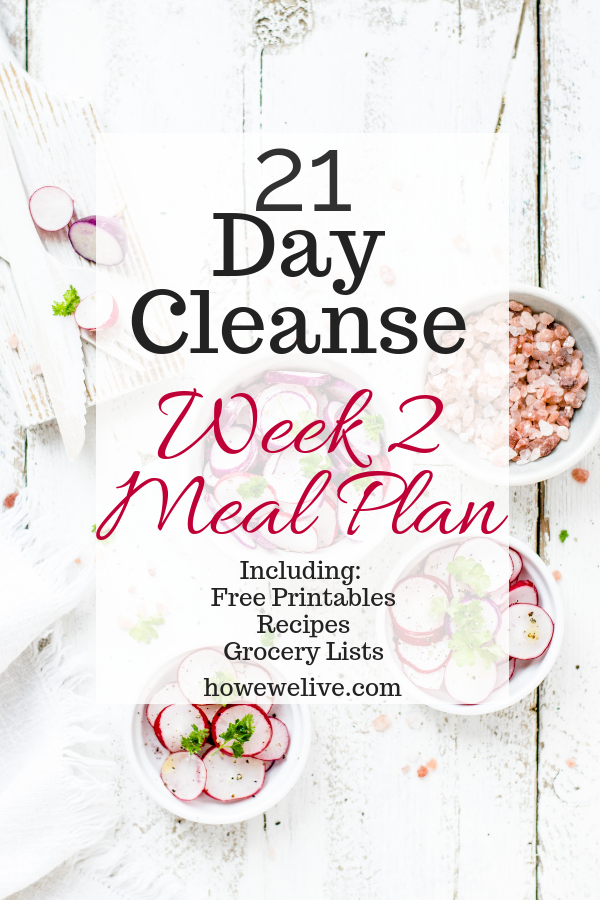 21 Day Cleanse Week 2 Pinterest Image