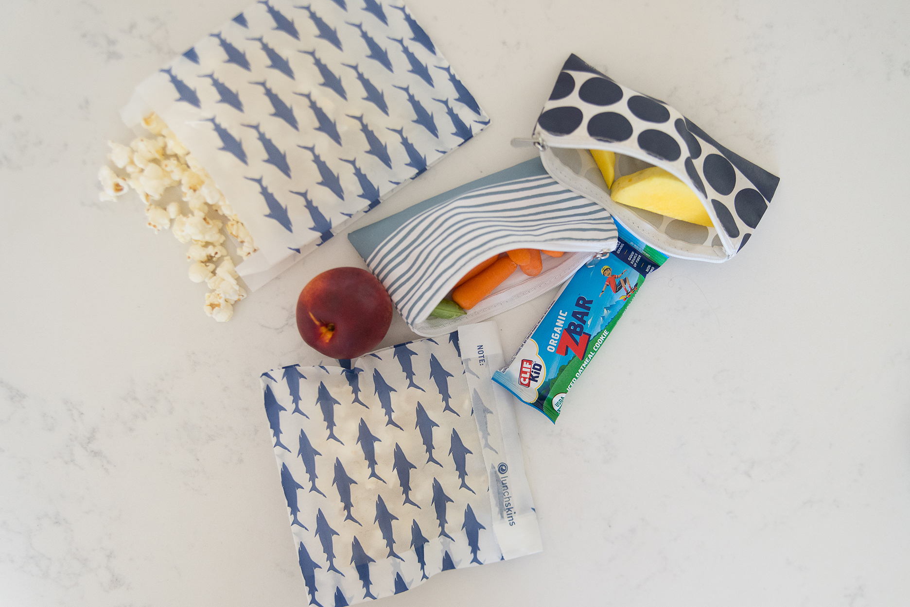 lunch skin reusable and disposable bags