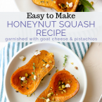 roasted honeynut squash pin image