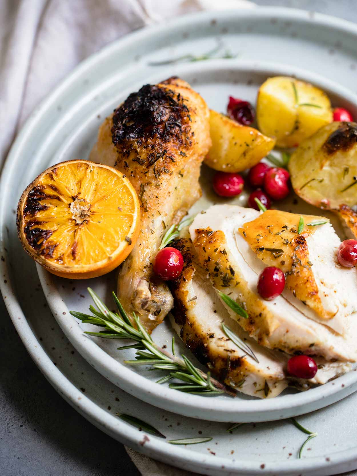 Cranberry Chicken and Potatoes