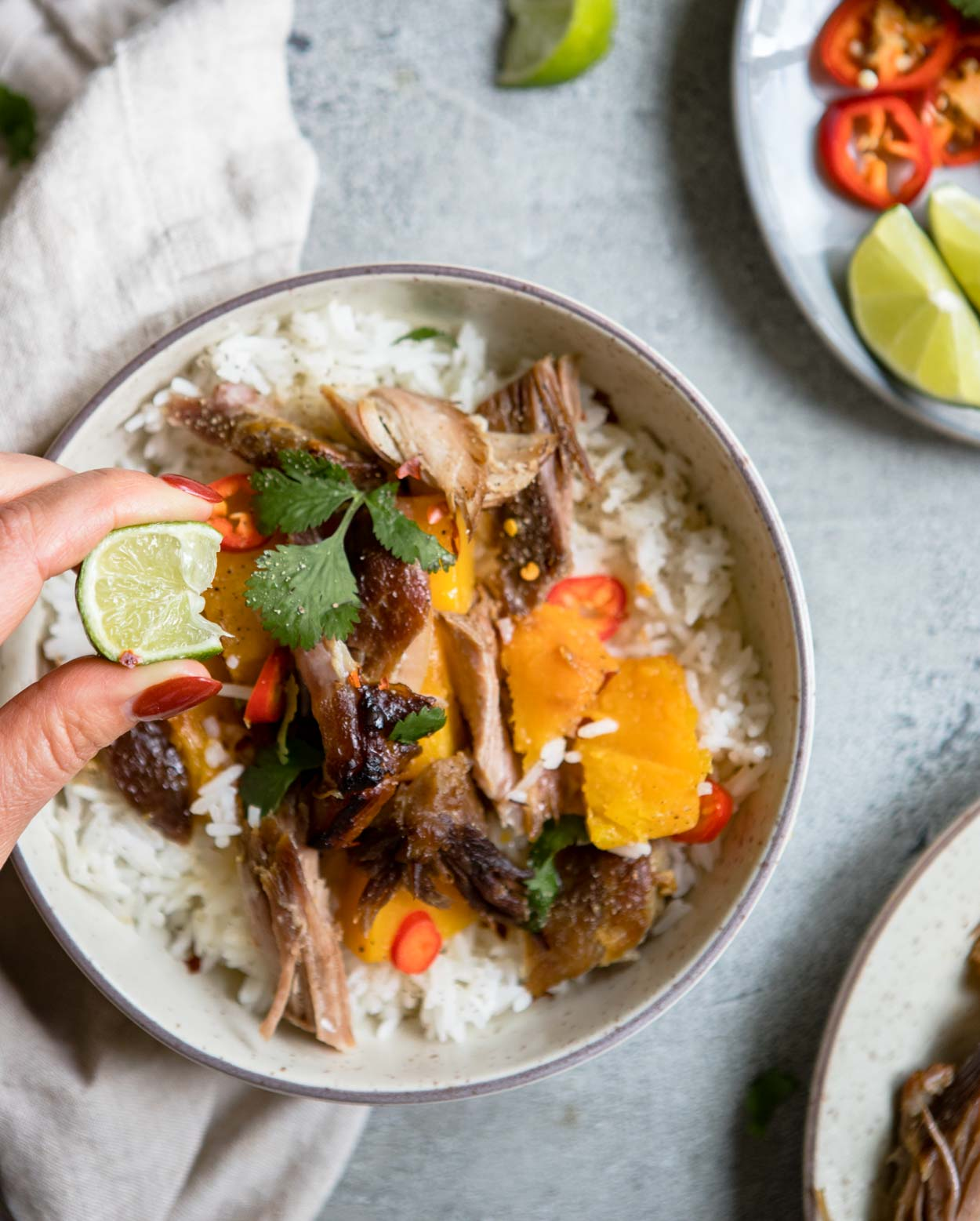 Asian Flavored Braised Pork