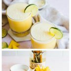 how to make coconut pineapple margaritas