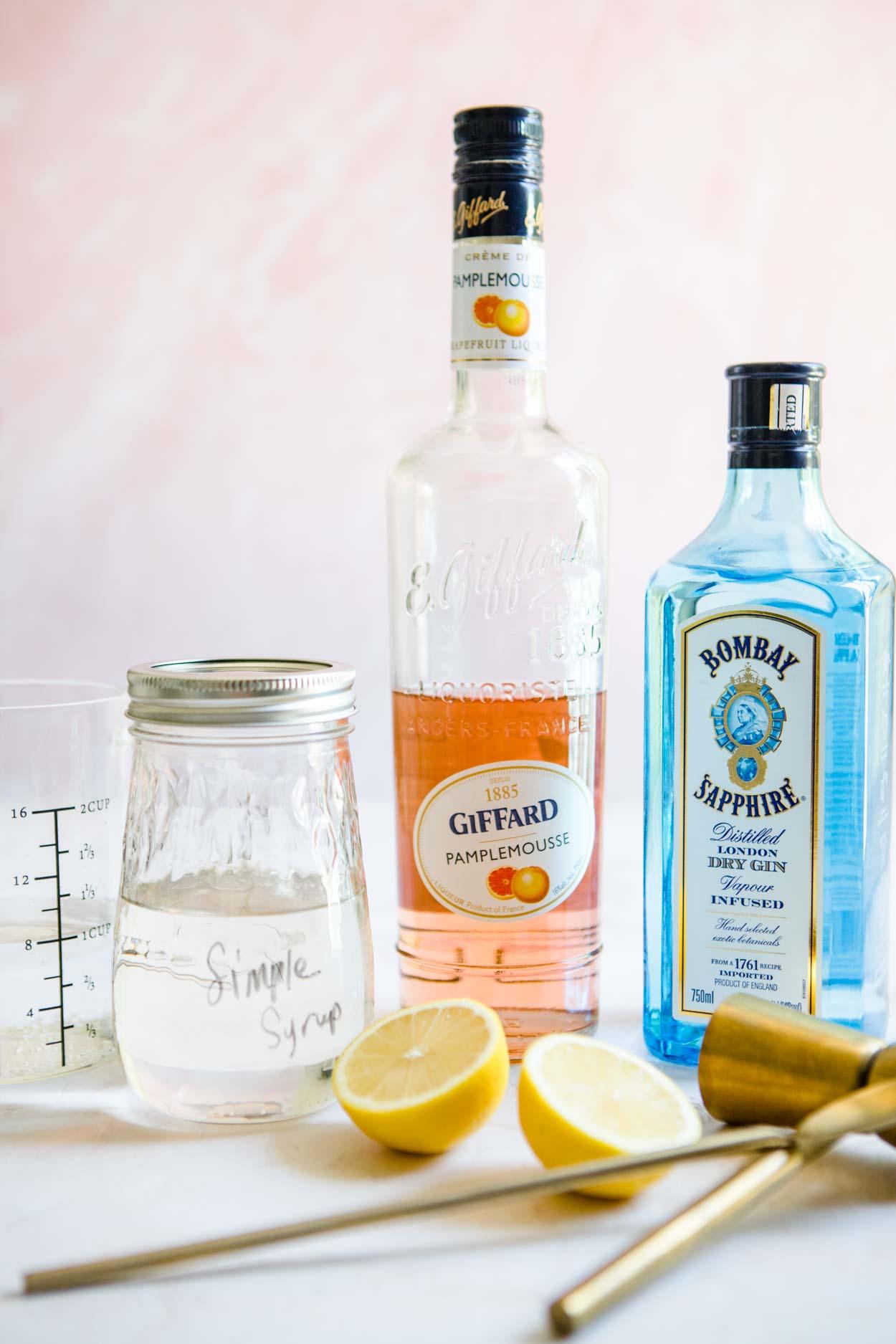 gin grapefruit cocktail ingredients